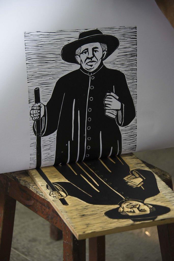 Xilogravura. Mestre José Lourenço.